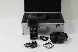 Compressed air ultrasonic leak detector leakshooter LKS1000 with camera in case